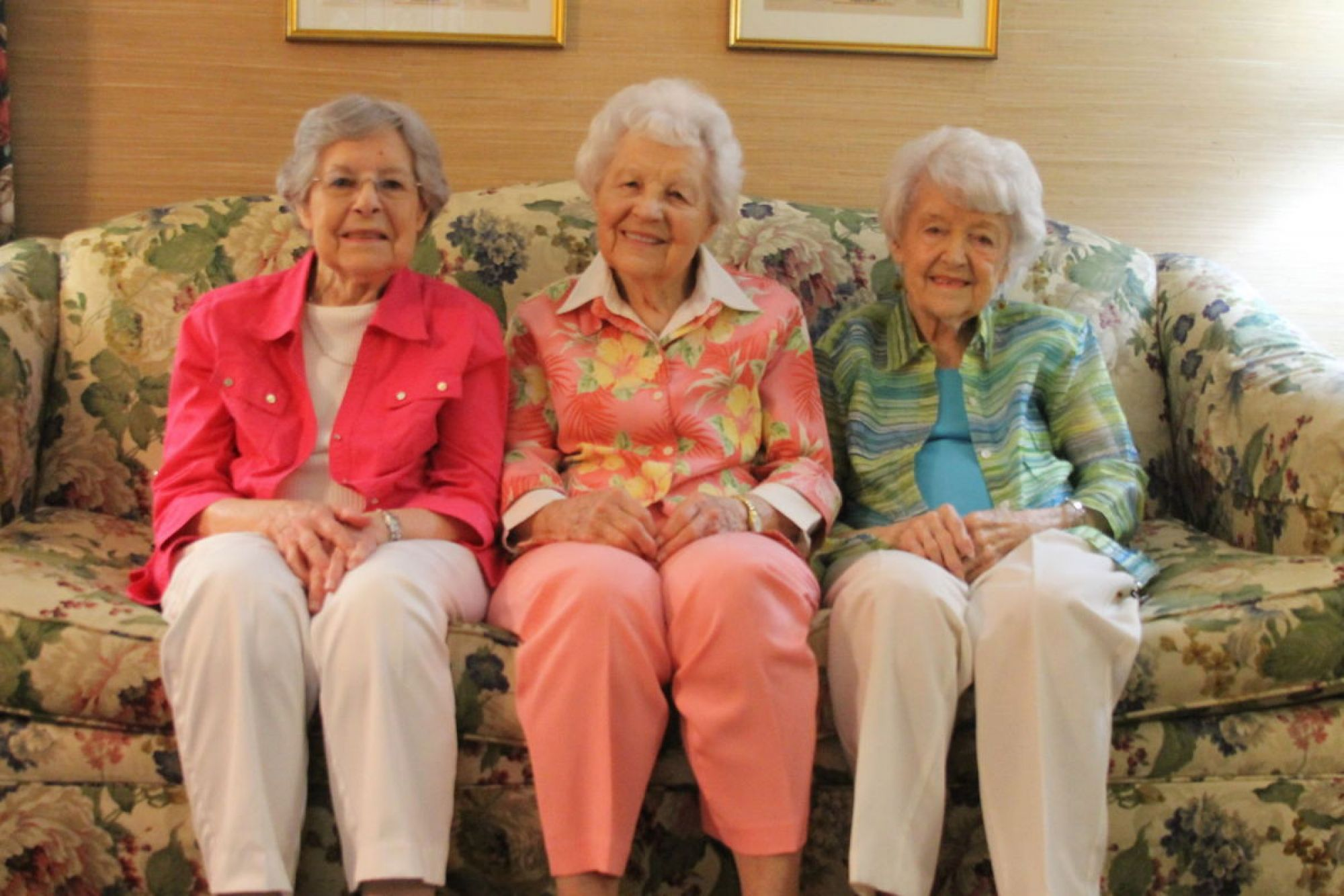 Three Sisters Together at The Bayberry of Greenwood